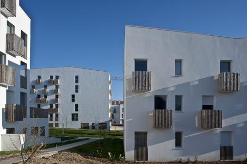 Eco quartier La Jaguère - Annick Bienfait