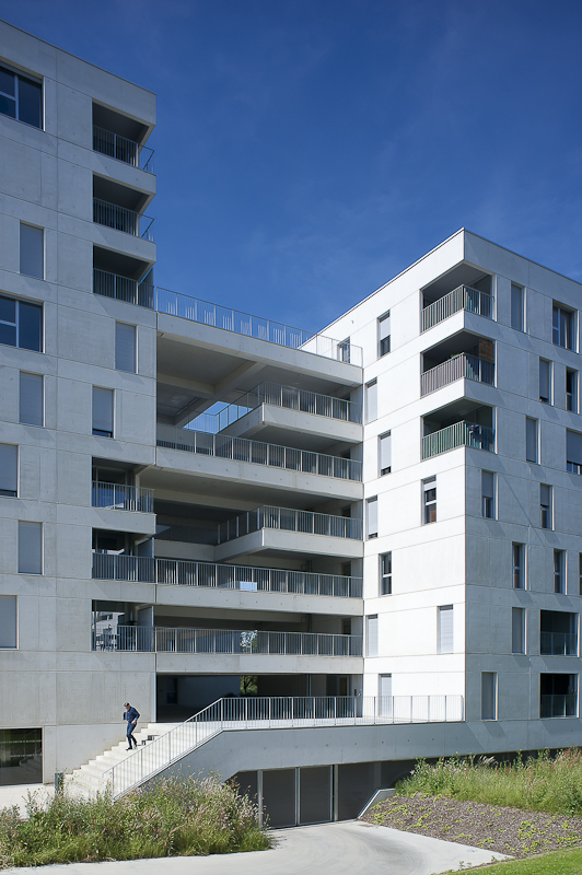 Immeuble d'habitation - Annick Bienfait